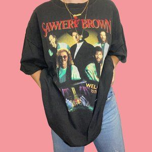 Vintage Sawyer Brown Band 1994 Graphic T-shirt